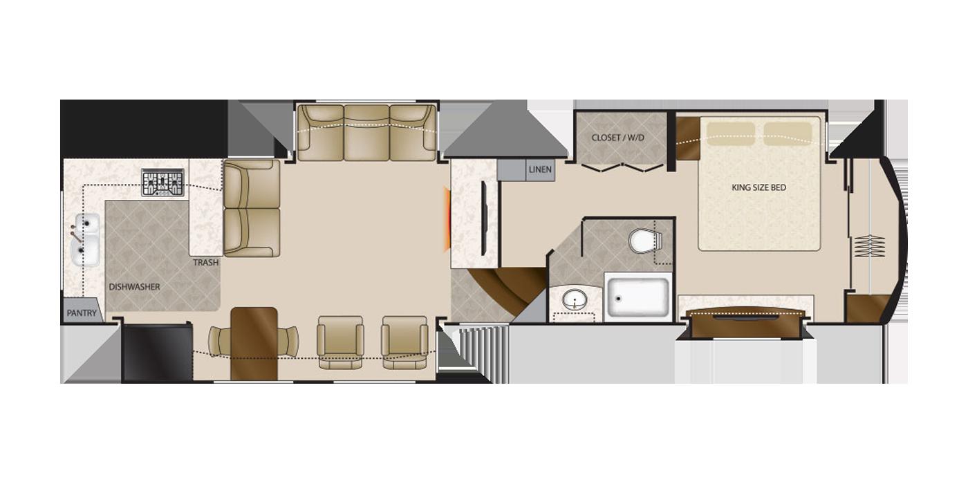 41 Elite elite suites 41 rksb4 rv | tiara rv sales